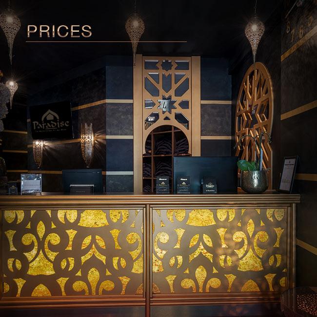 Prices | FKK Sauna Club Saarbrücken | The Paradise