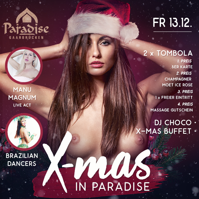 X-mas in Paradise: 13 December