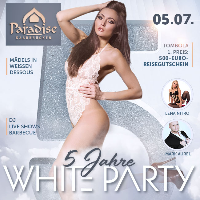 White Party - 5 years The Paradise